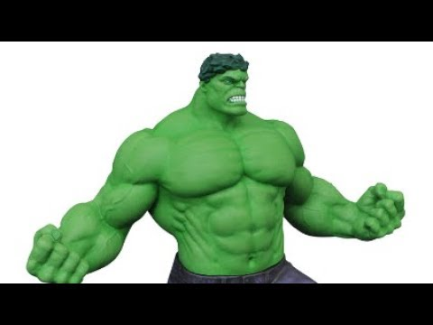 unboxing/review the incredible hulk from diamond select toys (gallery)