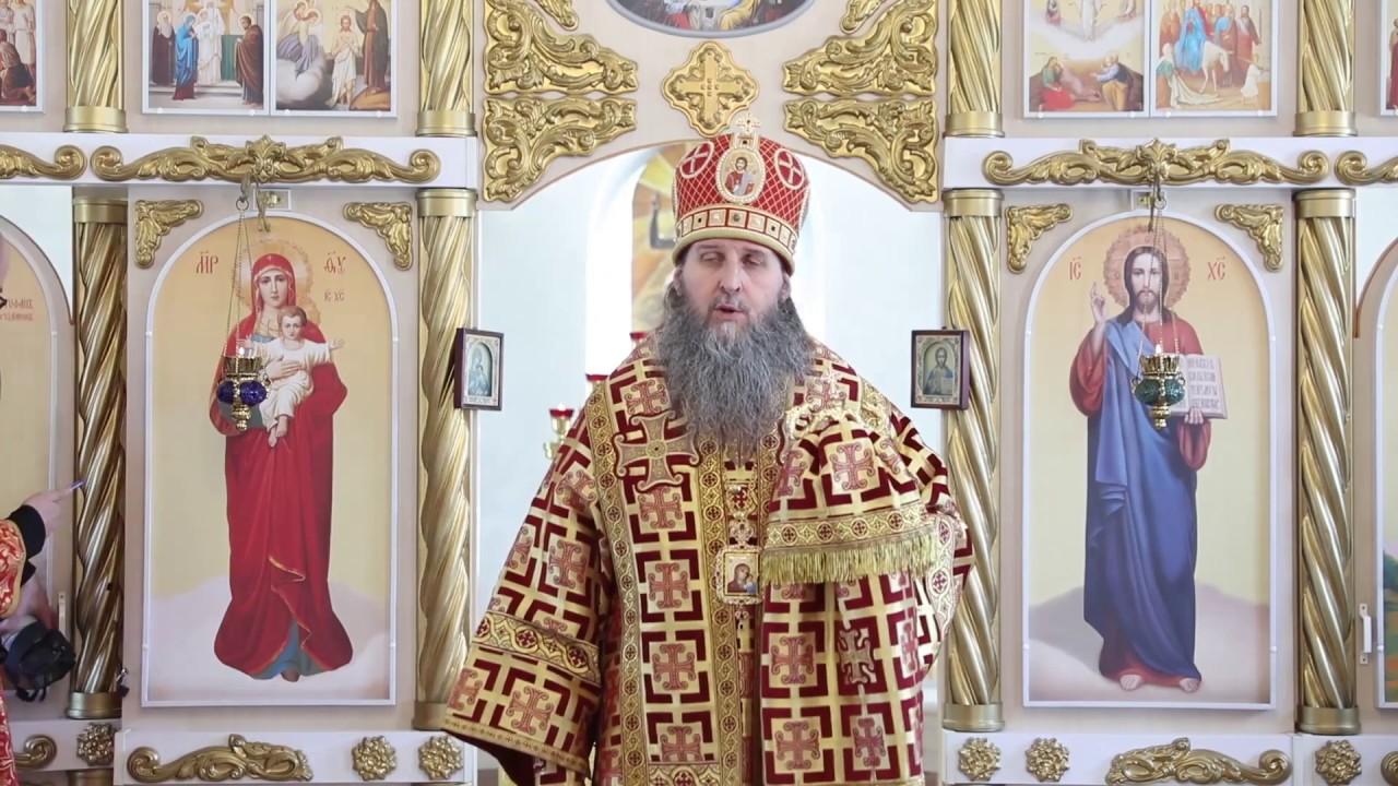 Проповедь митрополита Даниила в день памяти прп. Иоа́нна, ученика прп. Григо́рия Декаполи́та