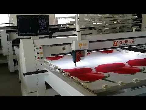 ZHHE Single Needle Quilting Machine Model Z-35