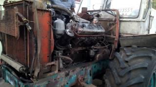 Это ЯМЗ детка . Запуск двигателя после ремонта .