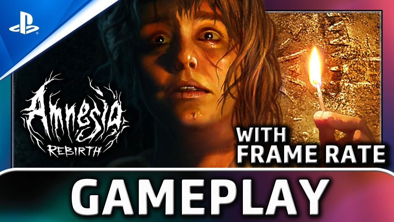 Amnesia: Rebirth   PS4 Gameplay & Frame Rate