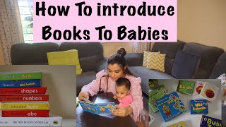 Amber's Baby Books | Story Books | How To Introduce Books To Babies