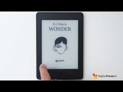 E-book reader Kindle Paperwhite Video Recensione