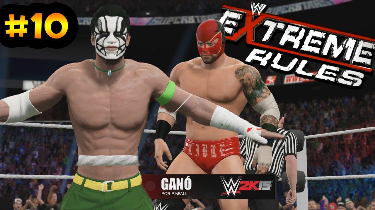 Ver WWE 2K15 – Extreme Rules – Nacho Libre debuta en Main Event en Español Online