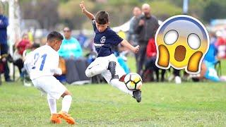 KIDS IN FOOTBALL – FAILS SKILLS & GOALS #1