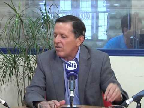 Las dos orillas con el presidente de la autoridad portuaria de la bahía de Cádiz José Luis Blanco