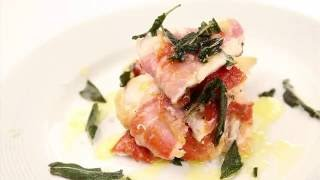 Nick's Chicken Saltimbocca with Crispy Sage Leaves