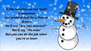 Amy Grant - Winter Wonderland (Lyrics)