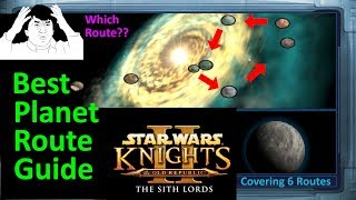 Star Wars KOTOR 2 Planet Order Guide | Best Planet Routes | Planet Breakdown | Planet Walkthrough