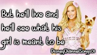Sharpay Evans [Ashley Tisdale] -  Gonna Shine With Lyrics