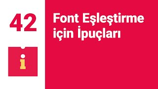 #42 Font Eşleştirme Için İpuçları (Best Tips For Font Pairings)
