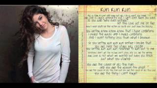 Celeste Buckingham - Run Run Run (LYRIC)