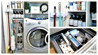 ORGANIZATION | Laundry Room Utility/Closet Update And Exciting News