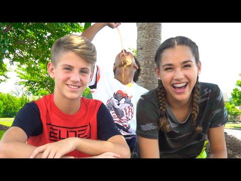 Fruitocracy Roulette Challenge! (MattyBRaps vs Gracie Haschak) … & Justin?