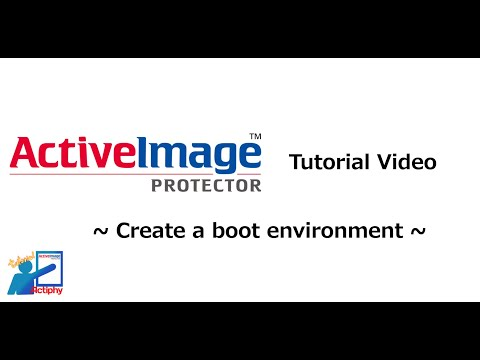 Create a boot environment