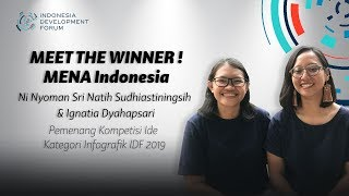 IDF 2019 Meet The Winner - Pemenang Infografik IDF 2019 MENA Indonesia