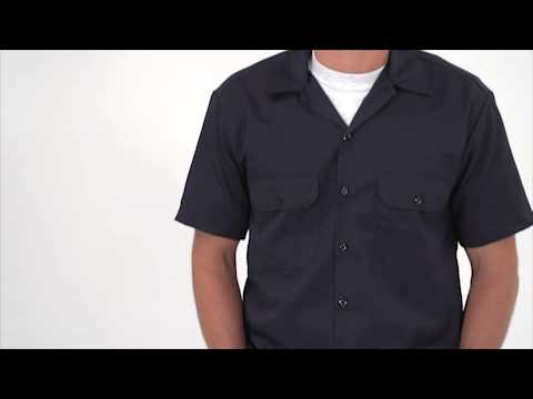 Men's Short Sleeve Work Shirt video thumbnail