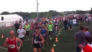 preview picture of video 'Start 10 km Hahner Kitzenhauslauf 2012'