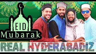 Real Hyderabadiz #33 | Eid Mubarak | Hyderabadi Comedy | DJ Adnan Hyd | Acram MCB