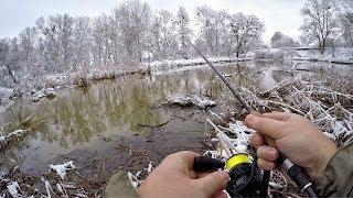 Ловля окуня в зимней период
