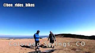A fall descent of the Pikes Peak Plummet, albeit with a slight modification at the end by going through RRCOS instead.
