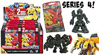 Transformers Series 4 Tiny Turbo Changers Surprise Bags, Blind Bags
