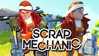 ТОП механики Всея Руси! Едем на Марс! (SoM - Cloud.I.Am) | Scrap Mechanic