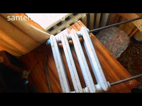 Как собирать радиаторы отопления