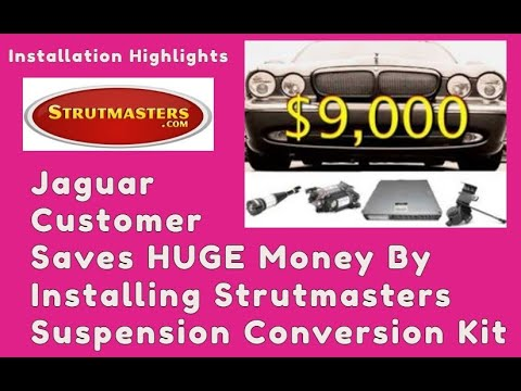 Strut Replacement | Jaguar XJR With A Front And Rear Replacement By Strutmasters