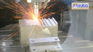 IRUBA Mat INCONEL Vollnut fräsen mit Voll Keramik Werkzeug