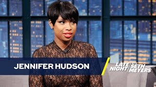 Jennifer Hudson Doesn't Do Vocal Warm-Ups
