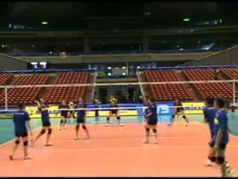 Preview video Thailand´s volleyball team training in Japan