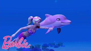 плавание с дельфинами 💖Barbie Россия 💖островные принцессы 💖Отрывки из фильмов Барби