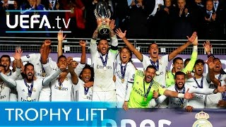 Real Madrid win UEFA Super Cup