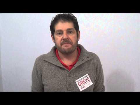 Sérgio Antiqueira, convoca trabalhadores para participarem da reunião do comando de greve