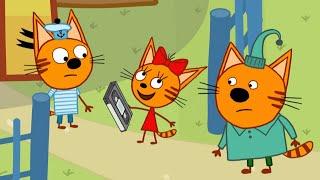 Три кота | Загадочная находка | Серия 132 | Мультфильмы для детей