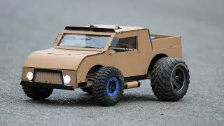 How to make a car - amazing Cardboard car