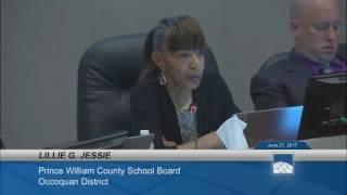 PW County School Board Meeting (6/21/17)