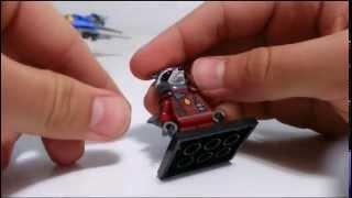TRU Exclusive Lego Rocket Raccoon Review+Comparion