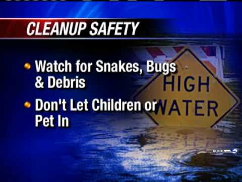 Flood Cleanup Safety Tips