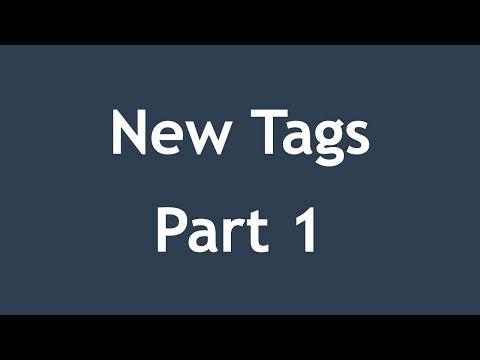 تعلم HTML5 القائمة #1 الفديو #8