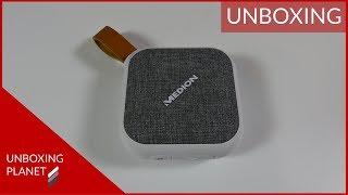 Unboxing kleiner Bluetooth-Lautsprecher Medion MD43588 - Unboxing Planet