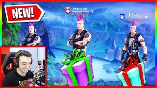 Gifting Skins To Random Duos in Fortnite! (Wins = Free Skins)