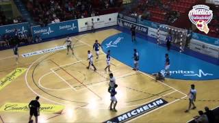 preview picture of video 'Balonmano Atletico Valladolid 37 - 26  Handbol Bordils'