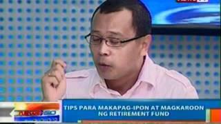 NTG: Tips para makapag-ipon at   magkaroon ng retirement fund