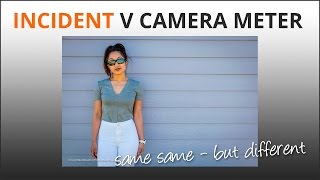 Incident or camera meter