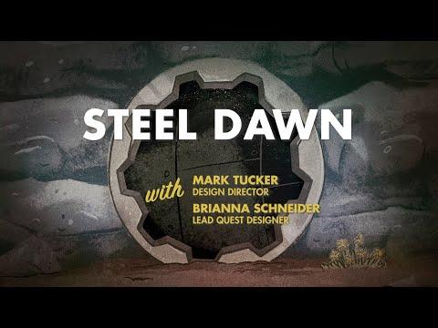 Vidéo de gameplay pour l'extension Steel Dawn de Fallout 76