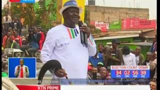 I am not a mad man neither am I a tribal leader: NASA flag bearer-Raila Odinga