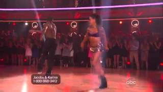 Sophia Lucia on Dancing With The Stars Finale