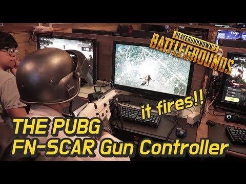神人自製PUBG VR 槍? 這真的可以玩!